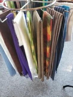 100% alpaca scarves