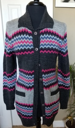Multi Color Sweater - Size M