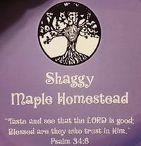 Shaggy Maple Homestead - Logo