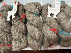 Photo of Grey huacaya - fine handspun