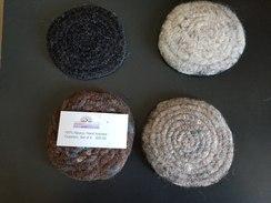 Coasters- set of 4