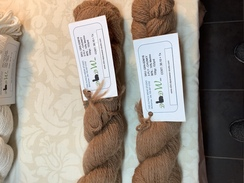 Yarn CHUNKY  90%Alpaca 10%Merino BROWN