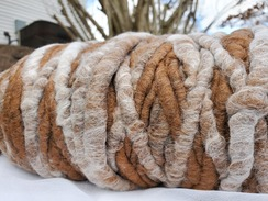 Alpaca Rug Yarn #12