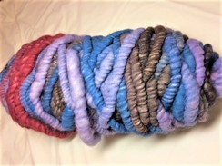 Photo of Yarn-alpaca corespun/wool core rug bump9