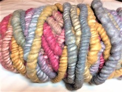 Photo of Yarn-alpaca corespun/wool core rugbump10