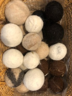 Alpaca Dryer Balls -    Package of 3