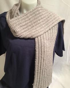 Knit Scarf - handmade - HMScarf4