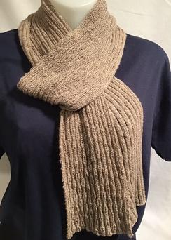 Knit Scarf - handmade - HMScarf5