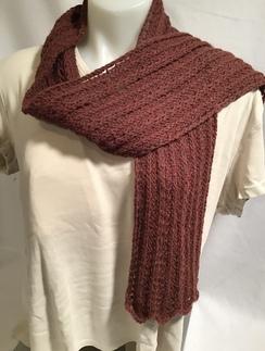 Knit Scarf - handmade - HMScarf7