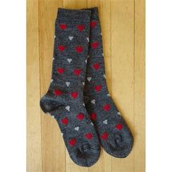 Photo of Alpaca Heart Dress Socks