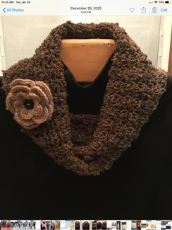 Hand made Eternity Scarf