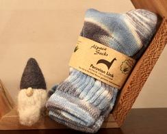 Peruvian Link Socks with Aloe Vera