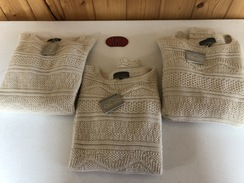 Fluted edge Classic Alpaca sweater