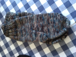 Photo of Handknit mittens