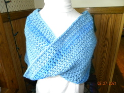 Photo of handmade alpaca shawls