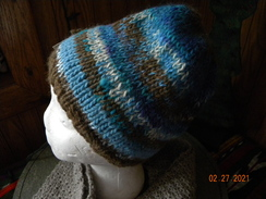 Photo of Alpaca striped hats