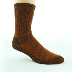 Photo of UNISEX Dyed Alpaca Survival Socks (L)