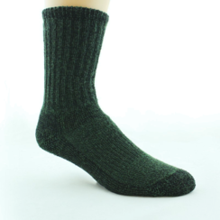 Photo of UNISEX Dyed Alpaca Survival Socks (M)