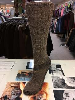 "Photo of ""Heavy Weight"" Mid-Calf Alpaca Socks"