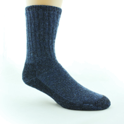 Photo of UNISEX Dyed Alpaca Survival Socks (XL)