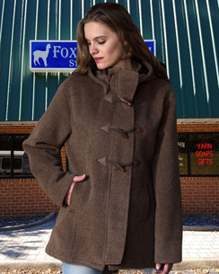 Photo of Toggle Womens Alpaca Coat