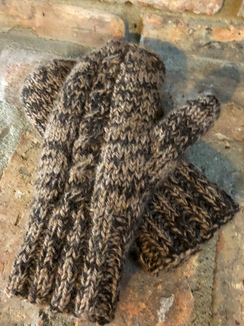 Double Knit Lined Mittens
