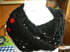 Photo of Crocheted Alpaca Scarf