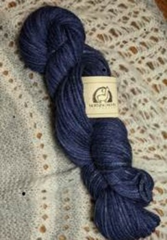 Photo of Worsted 100% Baby Alpaca - Navy Blue