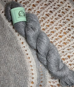 Photo of Fingering Alpaca/Merino/Angora - Grey