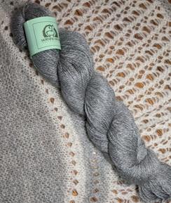 Fingering Alpaca/Merino/Angora - Grey