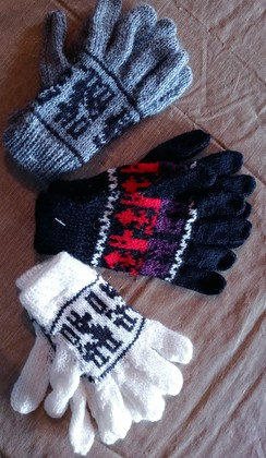 Childrens' Alpaca Gloves