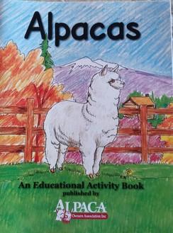 Alpaca Coloring/Workbook