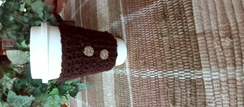 Crochet Hot/Cold Drink Cozy - 12 oz.