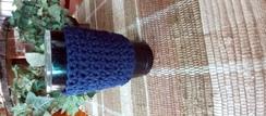 Crochet Hot/Cold Drink Cozy - 16+ oz.