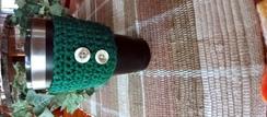 Crochet Hot/Cold Drink Cozy - 24+ oz.
