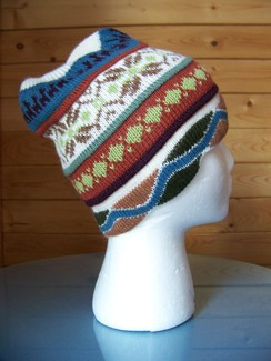 100% alpaca knit hat