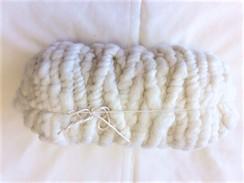 Photo of Yarn-100% alpaca corespun rug yarn.White