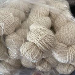 "Photo of Yarn ""Deborah"" beige huacaya"