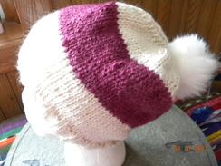 Alpaca, merino and mohair slouch hat