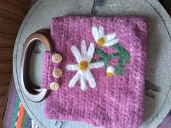 Photo of Merino and mohair felted purse
