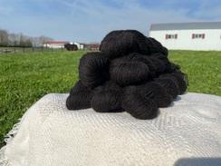 Black Tibetan Yak Yarn Blend