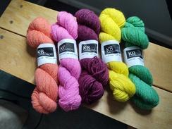 Alpaca Yarn - Colors