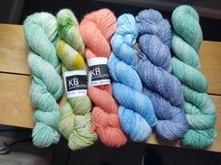 Alpaca Yarn - Multi Colors