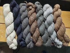 Alpaca Yarn - Natural Colors