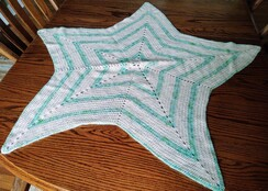 Star Baby Alpaca Blanket