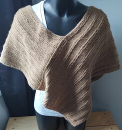 Poncho - Hand Knitted