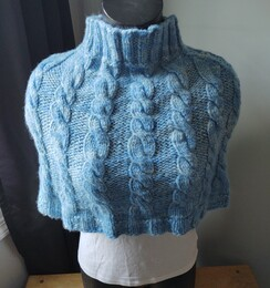 Capelet - Hand Knitted