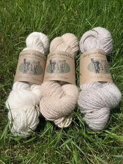 Sport weight yarn 200y/2 ply