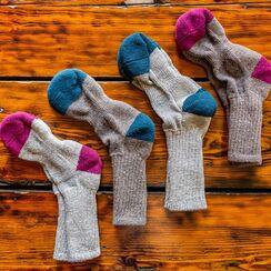 Red Granite Branded Alpaca Socks