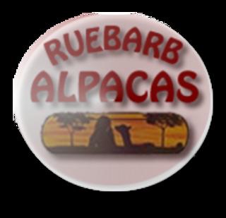 Ruebarb Alpacas - Logo
